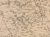 Detail from an old map of Bedfordshire