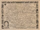 Old Map of Bohemia