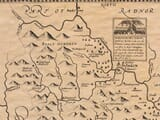 Detail from an old map of Brekon