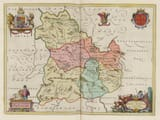 Brecon Old Map