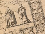 Detail from an old map of Cambridgeshire
