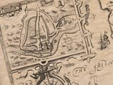 Detail from an old map of Cardigan