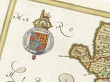 Detail from an old map of Caernarvonshire 1645