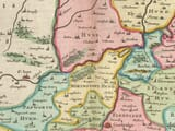 Detail from an old map of Cambridgeshire 1645