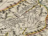 Enlarged portion from Central Highlands of Scotland Map