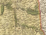 Old Map of Kyle detail