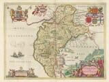 Old Map of Cumbria