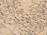 Detail from an old map of Denbighsire