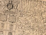 Detail from an old map of Devon