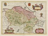 Old Map of Denbighshire