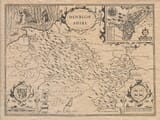 Old map of Denbighsire