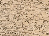 Detail from an old map of Dorset