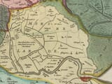 Detail from an old map of East Anglia1645