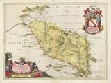 Old Map of Eskdale