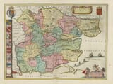 An old map of Essex