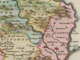 Detail from an old map of Glamorganshire 1645