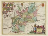 Early Map of Gloucestershire