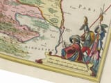 Detail from an old map of Hertfordshire 1645