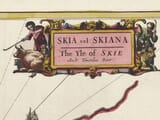 Early Map of the Isle of Skye