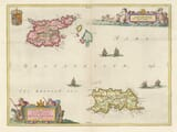 Jersey Guernsey Channel Islands Map