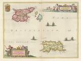 Jersey Guernsey Channel Islands Map