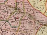 Old Kent Map Detail
