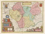 Leicestershire Map 1645
