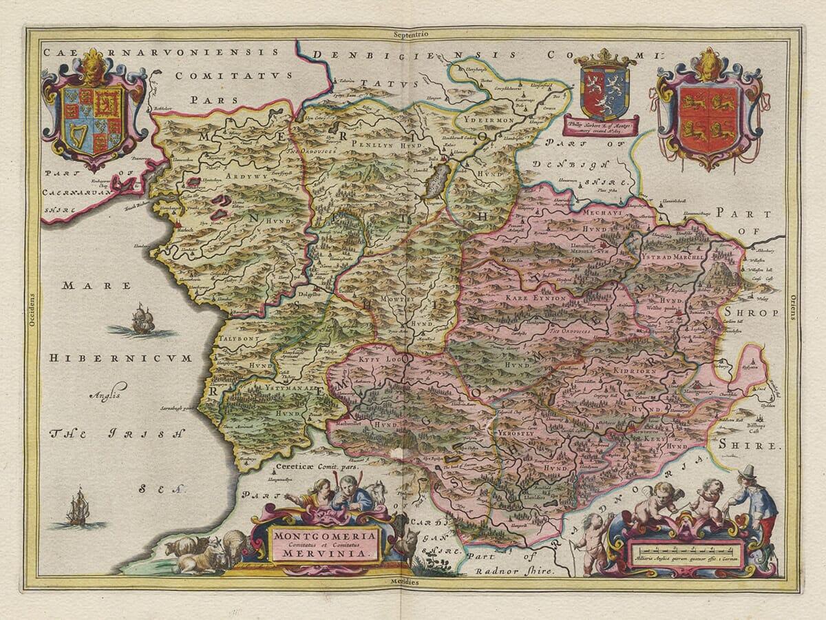 Montgomery Map 1645
