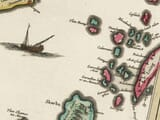 Early map of The Isle of Mull detail