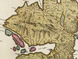 Early map of The Isle of Mull