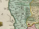 Detail from an old map of Nottinghamshire 1645