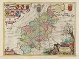 Old Northamptonshire Map