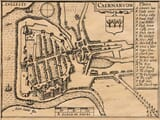 Old Caernarvon Town Plan