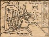 Old Caernarvon Town Plan