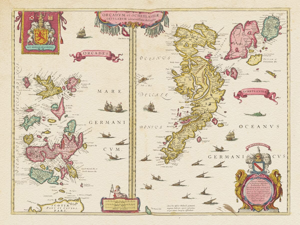 Orkney and The Shetland Islands