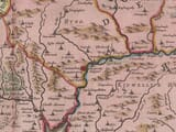 Detail from an old map of Pembroke 1645