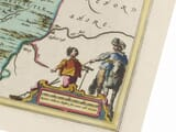 Detail from an old map of Radnor 1645