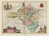 Radnor Map 1645