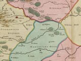Detail from Rutland in 1645