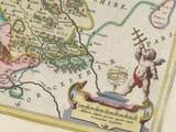 Detail from Old Map of Shropshire 1645