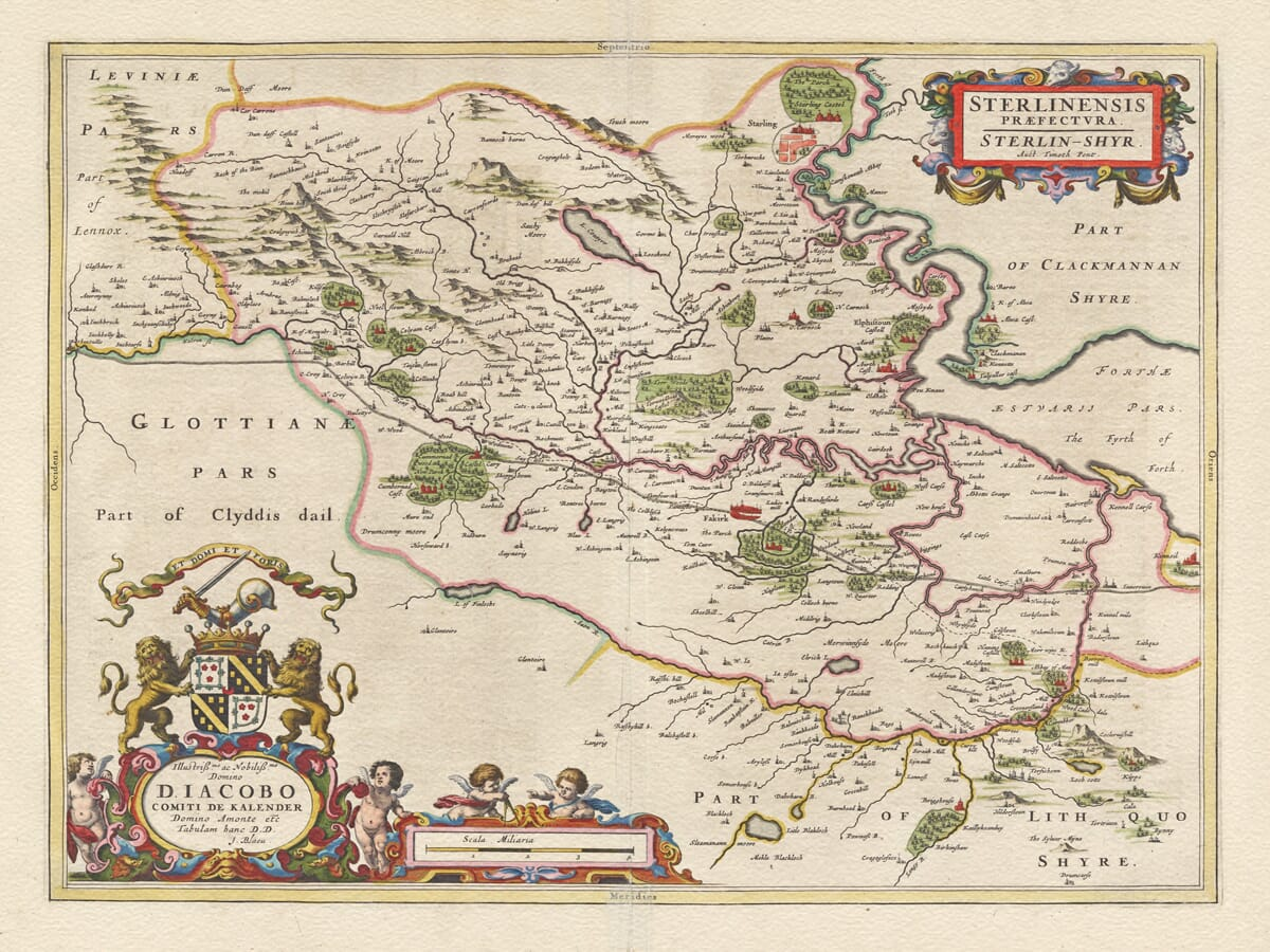 Stirlingshire Map