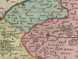 Detail from old map of Suffolk