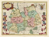 Early Surrey Map
