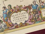 Upper Clydesdale detail from old map