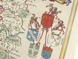 Detail from Welsh Map 1645