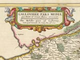 Detail from old map of West Kirkcudbright