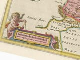 Early Yorkshire County Map Detail
