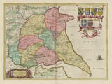 Old Yorkshire East Map
