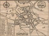 Old Town Plan of Derby