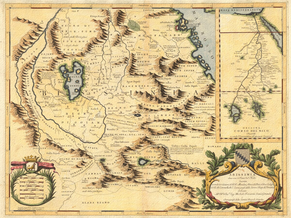 1690 coronelli map